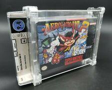 Aero the Acro-Bat 2 (Super Nintendo, 1994) SNES Wata Graded 9.4 A+ Sealed