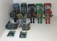 Lego Knights Kingdom Lot of 5 With Canisters