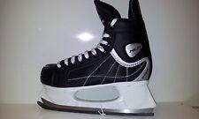 Oxelo XLR 1 Eishockey Schlittschuhe  - Senior Ice Skate Gr. 46 schwarz - Sale