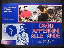FOTOBUSTA CINEMA - DAGLI APPENNINI ALLE ANDE - E. R. DRAGO -1959-SENTIMENTALE-03