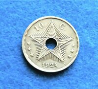 1924 Belgian Congo 10 Centimes - Great Old Coin - See PICS^^^