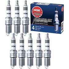 8X NGK OEM Iridium IX Spark Plugs Fit 2004~2008 Nissan Titan 5.6L V8