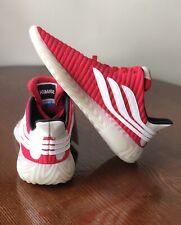 Cool ADIDAS Originals SOBAKOV Soccer Sneakers BD7572 Scarlet Red Men's Size 9.5