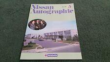 August 1987 No.5 NISSAN AUTOGRAPHIC 200SX / DAEWOO / KING CAB / IRELAND BROCHURE
