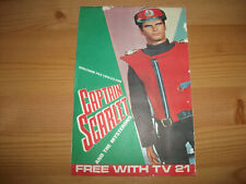 More details for tv 21 comic free gift - captain scarlet and the mysterons booklet
