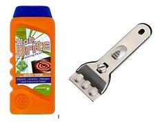 Universal Plaque grattoir & 300 ml plaque Brite céramique induction Crème Plaque Cleaner