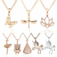 Women's Ladies Gold Silver Plated Animal Pendant Chain Choker Necklace Xmas Gift