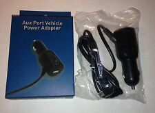 Magellan Vehicle Power Adapter AN0211SGXXX for RoadMate GPS Black, USB Port!