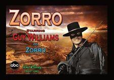 "ZORRO FRIDGE MAGNET. 4"" X 5"". TV WESTERNS. GUY WILLIAMS....FREE SHIPPING"