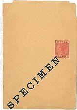 CYPRUS - POSTAL HISTORY - POSTAL STATIONERY: SPECIMEN