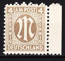 BIZONE 1945 Mi. Nr. 2 Postfrisch Seitenrand TOP!!! (13915)