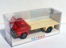 FORD THAMES ROJO RED CON PLATAFORMA WITH PLATFORM 1/87 TOYEKO TOY EKO