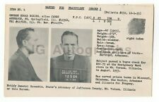 Wanted Notice - George Edgar Boring - Fraudulent Checks - Illinois - 1953