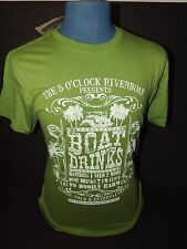 "JIMMY BUFFETT MARGARITAVILLE ""5 O'Clock Riverboat""  SIZE MENS - Large  NWT"