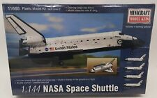 Minicraft Model Aircraft Kit 11668 - 1/144 Scale NASA Space Shuttle