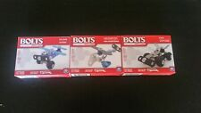 Lot Bolts Mini Vehicles -NEW- Car, Helicopter, Plane - Meccano