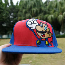 Super Mario Cartoon embroidery Baseball Cap Men Hip Hop Adjustable Hat Snapback