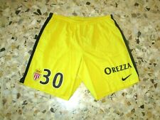 Short football ancien porté worn  AS MONACO N° 30  Gardien NIKE  no maillot