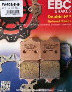 EBC HH Front Brake Pads (1 Set) 2009-2017 BMW S1000RR FA604/4HH for 1 caliper
