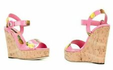Dolce Gabbana Limited Iconic Wedges WEDGE SANDALEN Pumps Shoes Sandals Shoes 37