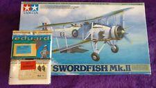 Tamiya 1:48 Fairey Swordfish Mk.II w/Eduard FE384 p/e Model Kit 61099 SEALED BAG