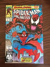 SPIDER-MAN UNLIMITED, FABULOUS 1ST ISSUE, MAXIMUM CARNAGE, MAY 1993 ISSUE