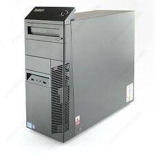 Lenovo ThinkCentre Ibm m81 Tower Intel Core I5 2400 8GB 250GB Windows 7 64 Bit