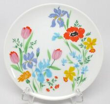 Heinrich Primavera Bread & Butter Plate(s) Green Mark Selb Bavaria Germany