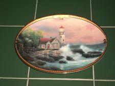 1995 Bradford Exchange Thomas Kinkade Hope's Cottage Plate Scenes of Serenity