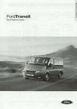 Lista de precios Ford Transit recreativas modelos 15.11.02 2002 Tourneo EUROLINE Pepita