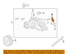 Lexus TOYOTA OEM 01-05 IS300 3.0L-L6-Water Pump Gasket 1632546010