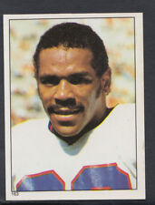 Topps 1981 American Football Sticker No 163 - Billy Taylor - Giants (T446)