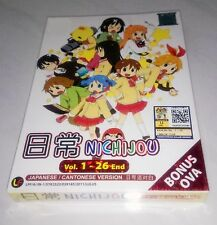 NICHIJOU MY ORDINARY LIFE Complete Anime TV Ep.1 - 26 End PLUS OVA DVD Box Set