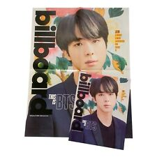 Official Limited BTS Jin Billboard Magazine & Poster - Map Of The Soul 7