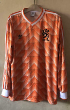 HOLLAND (NETHERLANDS) 1988 HOME RETRO SHIRT LONG SLEEVE, Size S M L XL 2XL