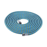 Hose color may vary TCP Global Master Airbrush Premium 10 Foot Nylon Braided Airbrush Hose with Standard 1//8 Size Fittings on Both Ends