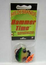 Hildebrandt Hammer Time #5 Perch Spinner Spinnerbait Fishing Lure Walleye Glow