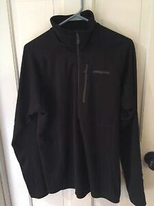 Patagonia Regulator Waffle Grid Thermal 1/4 Zip Shirt Pullover Men's Medium M