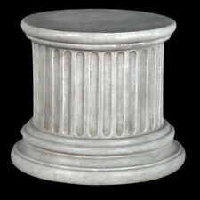 "Doric ancient Greek Column Pedestal 9"" for display of plants or hore decoration"
