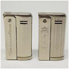 Briquets Lot de 2 IMCO PUB STREAMLINE + CHESTERFIELD Lighter-Feuerzeug-Accendino