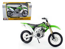 KAWASAKI KX 450F GREEN BIKE 1/12 MOTORCYCLE BY MAISTO 31175