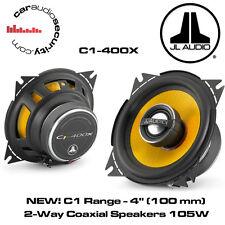 """JL Audio C1-400x - C1 4"""" (100 mm) 2-Way Coassiale Altoparlanti Porta ciascuno 105 W"""