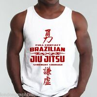 Jiu Jitsu T-shirt, tank top, thai box, MMA, UFC, boxing,, Muay Thai, Tyson, new
