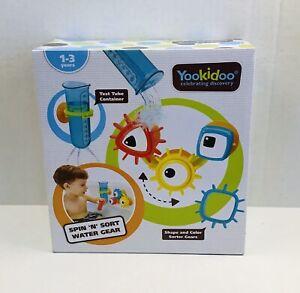 NWT Yookidoo Baby Bath Toy - Spin 'N' Sort Water Gear