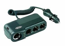 Ring RMS4 Car Four 12v Sockets Adaptor for Dash Cams SAT Navs and More