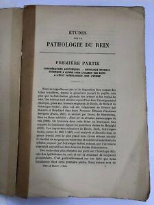 Études Sur La Pathologie Du Rein. Avec 16 Planches Hors Texte - 1884