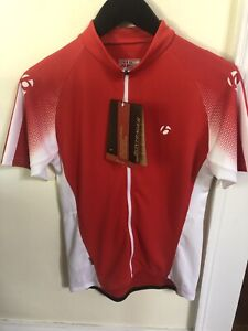 New-Old-Stock BONTRAGER Race Jersey - Size Small (89-94cm chest) Red/White