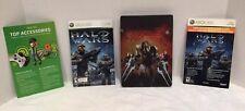 Halo Wars *Limited Edition* (Microsoft Xbox 360, 2009) CIB Very Nice Condition