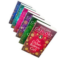 Tudor Court Novels 6 Books Collection Set Pack By Philippa Gregory Paperback NEW