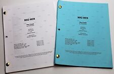 Mad Men * 2x DIFFERENT 2012 TV Script DRAFTS * Jon Hamm * Season 6, Episode 8